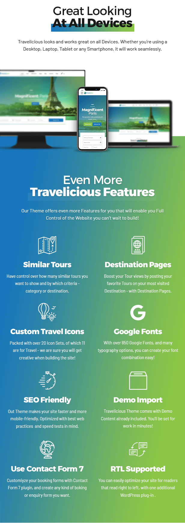 Travelicious - Tourism, Travel Agency & Tour Operator - 9